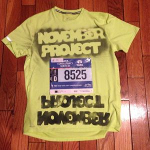 November Project NYC Marathon