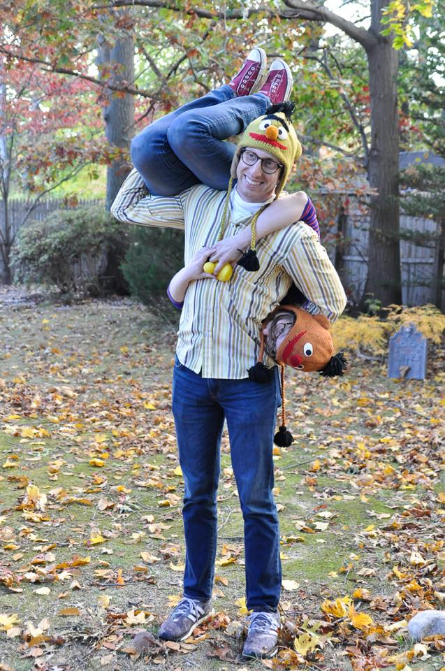 Bert and Ernie Halloween